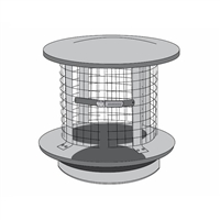 Chimney Cap/Spark Arrestor, 6""