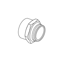 "Manifold Adapter, Female 1"" NPT"