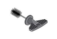 Cleaning Brush, 3/4""