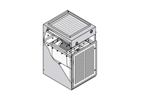 Air Handler Cabinet Back Access Kit for p/n 301