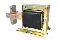"Solenoid, 1-3/8"" center-to-center bracket hole"