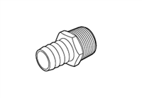 "PEX Adapter, 25mm x 3/4"" NPT"