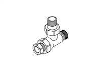 Thermostatic Radiator Valve, LKD Valve Body, 1/2""