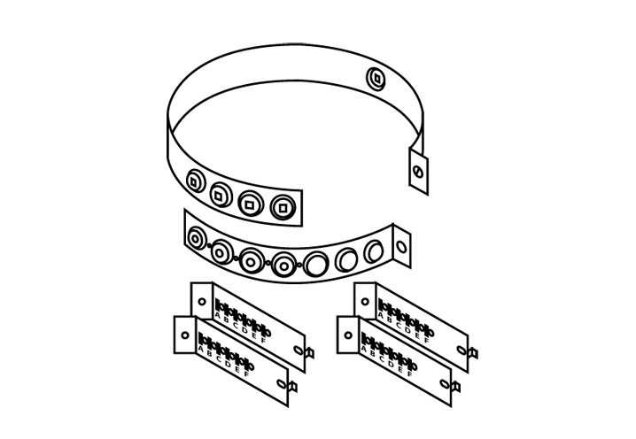 Chimney Attachment Ring 68