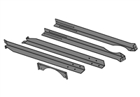 Chimney Support Brace Kit, CL 7260 and Pallet Burner