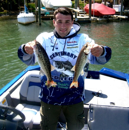 Centenary college bass fishing team for College bass fishing