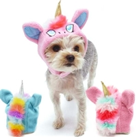 unicorn hat dog costume - Halloween Costume For Small Dogs