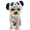 Panda Bear Hat Dog Costume