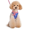 American Flag Small Dog Harness