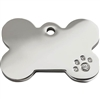 Stainless Steel Dog Tag  | Diamante Bone