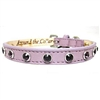 Leather Dog Collars | Purple Pooch