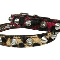 Spiked Leather Cat Collars