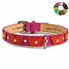 dog collars, designer dog collar, leather dog collar, luxury dog collar, rhinestone bling dog collars, personalized dog collars, fancy dog collar, cat collars, leather cat collar, breakaway cat collars, personalized cat collars