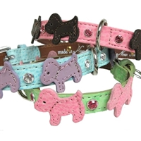 Doggie Style Custom Leather Dog Collar