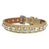 Fancy Leather Luxury Designer Cat Collars with Bling