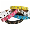 Designer Cat Kitten Collars | Custom Leather and Crystals