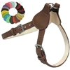 Doggie Style Leather Small Dog Harness