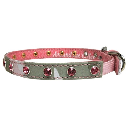Designer Cat Collars | Kitty Camo and Crystals