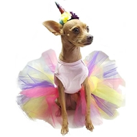 Unicorn Tutu Dog Halloween Costume