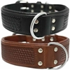 Western Leather Dog Collar | Santa Fe
