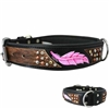 Sedona Western Leather Dog Collar