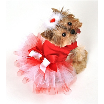 My Valentine Tutu Dog Dress