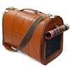 Leather Designer Dog Cat Carrier