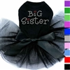 Big Sister Rhinestone Dog Dress