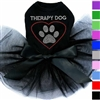 Rhinestone Therapy Dog Tutu Dog Dress