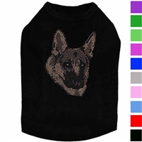 German Shepherd Rhinestud Dog Shirt