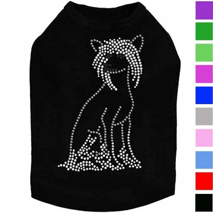 Dog Shirt | Rhinestone Chinese Crested