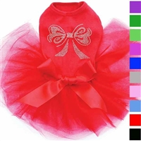 Dog Tutu Dress | Rhinestone Bow