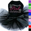 Dog Tutu Dress | Pink Christmas