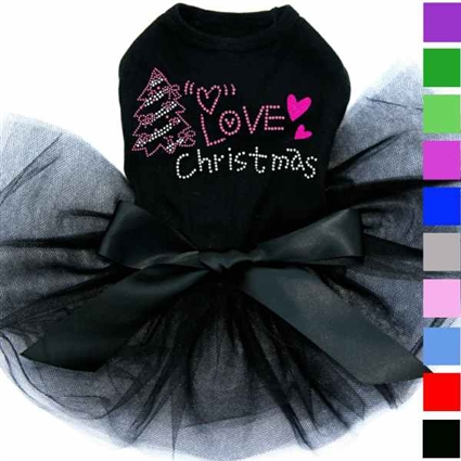 Christmas Dog Dress | Love Pink Christmas
