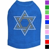 Star of David Rhinestone Dog Shirt