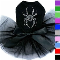 Halloween Spider Tutu Dog Dress