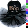 Rhinestone Boo Tutu Dog Dress for Halloween