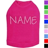 Rhinestones Name Dog Shirt | Personalized