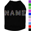 Designer Dog Shirt | Rhinestone Name