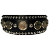 dog collar, martingale collar, leather dog collar