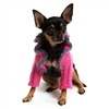 Hot Pink Small Dog Sweater Shrug