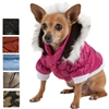 Small Dog Parka Coats for winter