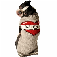 Tattooed Mom Dog Sweater | Organic Wool