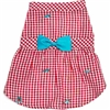 Gingham Shark Dog Dress