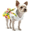 Floral Suspenders Summer Dog Dress