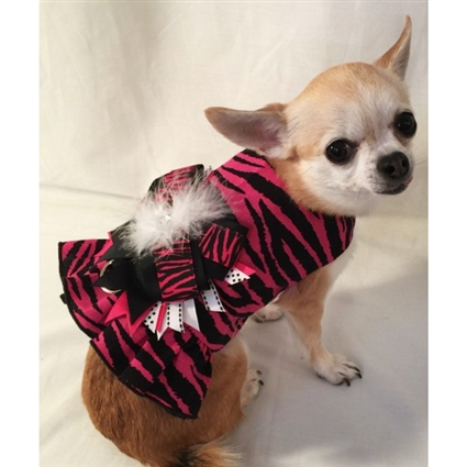 Little Pink Diva Small Dog Harness
