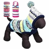 Fair Isle Double-Knit Dog Sweater