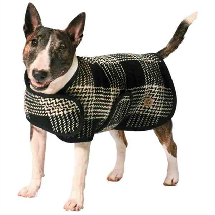 Plaid Blanket Winter Dog Coat
