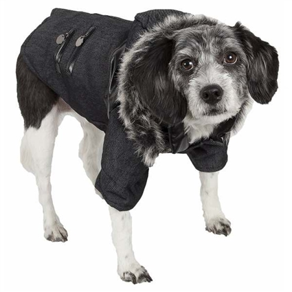 Denim Fashion Dog Coat