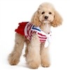 Red, White and Blue Sailor Dog Dress
